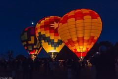 Dawn Patrol (allentimothy1947) Tags: calfiornia sonomacountyhotairballoonclassic windlow balloons hotairballoon moon gas dawn patrol light bluehour