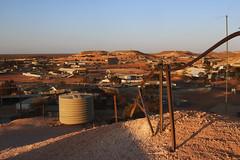 Not Bad Luck (Swebbatron) Tags: australia southaustralia cooberpedy town mines mining tremors fuji travel radlab 2008 sunset goldenhour opal