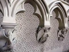 Martham Norfolk (jmc4 - Church Explorer) Tags: martham church norfolk reredos angel