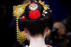 (..Serendipity..) Tags: japan kyoto gion gionkobu hanamachi geisha geiko maiko kanikakunisai gionshiragawa oshiroi makeup kimono nihongami people portrait wareshinobu eriashi kanzashi shidare momiji tama 美月 mitsuki