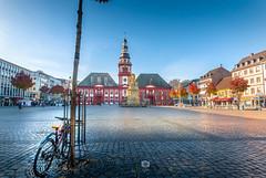 Mannheim Marktplatz (Michele Naro) Tags: mannheim badenwürttemberg deutschland d80 marktplatz germany germania rheinneckargebiet samyang14mmf28 nikond80 nikon iamnikon piazza