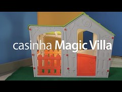 Casinha Magic Villa Keter Bege e Verde (portalminas) Tags: casinha magic villa keter bege e verde