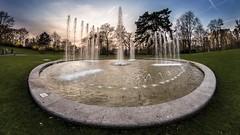 Schweinfurt (Friedhelm Hofstetter) Tags: fisheye springbrunnen wehranlage deu deutschland franken schweinfurt