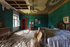 Emerald (alice_erre) Tags: decadenza exploration beauty paintings abandoned stuffs crumbling derelict forgotten forladte italy explorer singleraw iso100 intruder insider infiltration architecture indoor architettura shadows lighting colors olvivado decay urbex