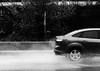 (danielvasome) Tags: car bnw rain splashingwater splash splashes water aqua puddle spray