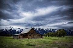 Grand Teton NP 9 (Jason Blalock) Tags: grandteton grandtetonnationalpark grandtetons grandtetonsnationalpark park nationalpark nationalparkservice nps wyoming barn moultonbarn mormonrow rustic mountains