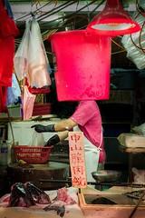 Marketplace (debbykwong) Tags: hongkong hongkongcity hongkongdiscovery market fishstall vendor urbanandstreet people hongkongers hongkonglife lovehongkong street streetcaptures streetincolor streetstall streetphotographer streetmoment candid leica leicaq leicaqtyp116 leicacamera leicaphoto