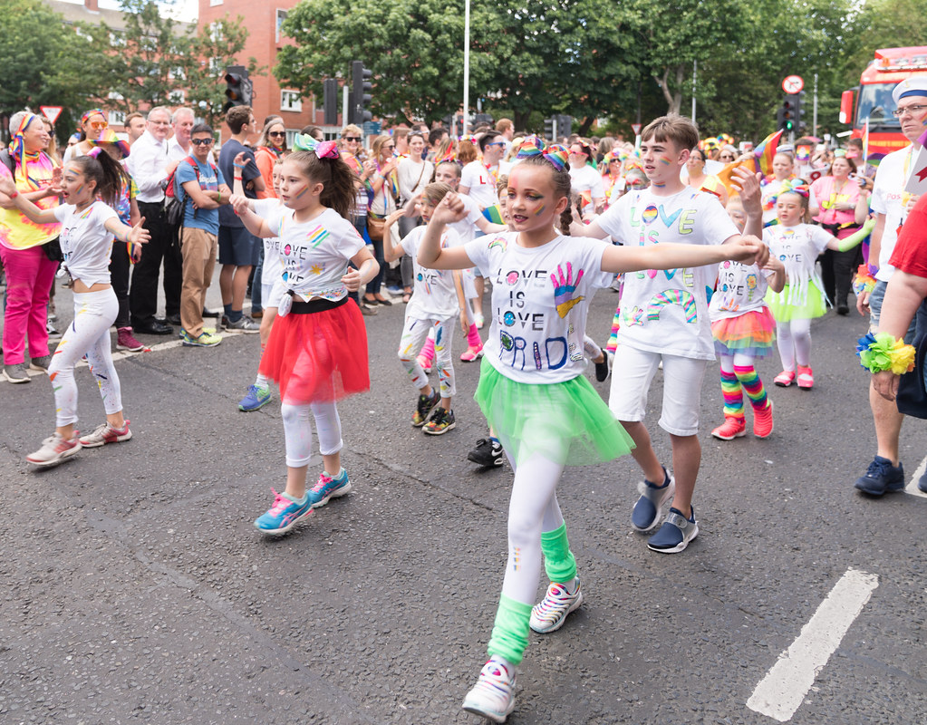LGBTQ+ PRIDE PARADE 2017 [ON THE WAY FROM STEPHENS GREEN TO SMITHFIELD]-130173