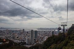 Ropeway (StephanExposE) Tags: japon japan asia asie stephanexpose canon 600d 1635mm 1635mmf28liiusm kobe ville city ropeway télépherique montagne mountain