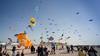 Kite Festival - Berck, France (pas le matin) Tags: kite cerf cerfvolant world france berck travel voyage kitefestival sky ciel bleu blue canon 350d canon350d canoneos350d eos350d