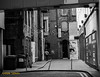 SIDESTREET... (BABAYAGA321) Tags: belfast victoriasquare streetphotography graffiti streetart clocktower murals dirtyonion guinness salvadoredali johnpeel stenaline langanriver ferry stannescathedral spireofhope