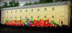 quote - jake (timetomakethepasta) Tags: bth gk quote jake freight train graffiti art aok autorack benching selkirk new york photography