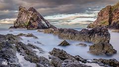 The Bow Fiddle (RabbieJT) Tags: bow fiddle rock portnockie scotland fiddler fiddlers long exposure sea seascape coast portknockie