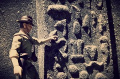deciphering the hieroglyphs (aka_patch) Tags: indianajones egypt