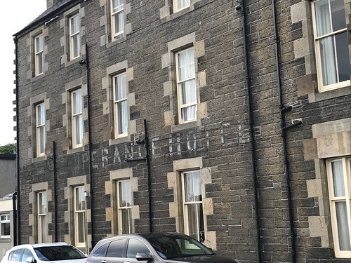 Temperance Hotel ghost sign, Wick
