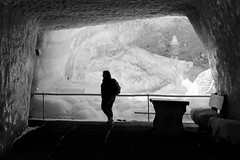 HBM :-) (fxdx, mostly off for Holiday :-)) Tags: hbm bench ice glacier mono monochrome cave nb bw a7 ilce7