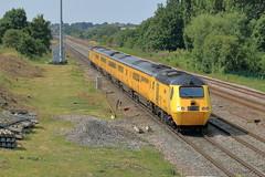 107H Banana Train (aledy66) Tags: 107h 1446 st pancras international derby rtcnetwork rail banana train yellow diesel freight loco locomotive canon eos 70d railway railroad track ef70300mm