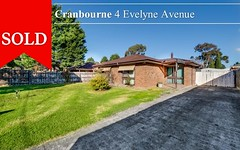 4 Evelyne Avenue, Cranbourne VIC