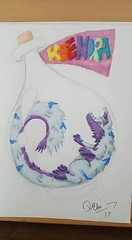 I got this present by Quarin ^-^ It's Kee in a bottle *giggles* You can find her here: Qarro's Art and Handicrafts ^-^ (Keenora Fluffball) Tags: keenora fursuit furry kee