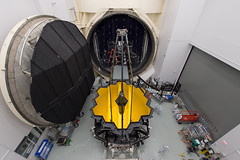 Webb Telescope Set for Testing in Space Simulation Chamber (NASA's Marshall Space Flight Center) Tags: nasa nasas marshall space flight center solar system beyond james webb telescope jwst