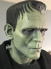 Universal Monsters Life Size Frankenstein (garystrange) Tags: add tags beta frankenstein prop life size replica 11 halloween boris karloff portrait