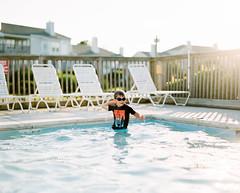 Pool Time (PeterStout) Tags: pentax6x7 pentax105 fuji400h pool toddler