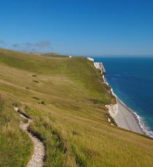Dorset Coast (mpb_17) Tags: landscape ocean cliffs beach coastpath weather sunny