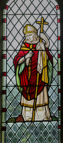 Langton by Wragby, St Giles' church window