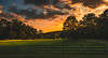 Evening, TN! (C.M. Hovinga) Tags: sunset tennessee tamron color fence hills clouds nothdr green evening wideangle