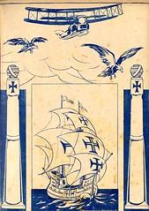 capa de revista, 1922 (Hemeroteca Municipal de Lisboa (Portugal)) Tags: capa cover magazine revista barco ship 1922 século20 20century ilustração illustration portugal media