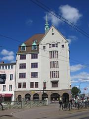 Tall house adjoining Hotel Opera, Norra Hamngatan, Gothenburg, Sweden (Paul McClure DC) Tags: gothenburg göteborg sweden sverige july2015 architecture historic