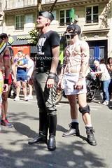 """bootsservice 17 1610114 (bootsservice) Tags: paris """"gay pride"""" """"marche des fiertés"""" bottes cuir boots leather sm motards motos motorcyclists motorbiker caoutchouc rubber uniforme uniform"""