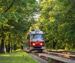 Tatra T3 (cameramann86) Tags: rail railway trams moscow russia tatrat3 tram streetcar tramcar москва россия