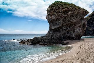 Playa de lo Muertos. Cabo de Gata.Alemeria