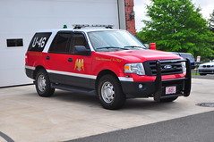 Eagle Volunteer Fire Company Utility 46 (Triborough) Tags: pa pennsylvania buckscounty newhope evfc eaglevolunteerfirecompany firetruck fireengine utility utility46 ford expedition