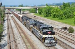 Savannah & Atlanta Heritage SD70ACe NS 1065-385 (southernrailway7000) Tags: norfolksouthernrailroad savannahatlantaheritagesd70acens1065
