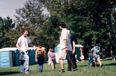 SF - Hackers (rumimume) Tags: rumimume 90s owensound ontario canada kelsobeach photo music festival summerfolk performer outdoors people folk fun summer august weekend grass
