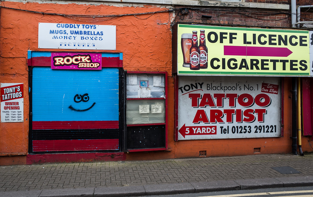 The world 39 s most recently posted photos by blackpool in for Tattoo shops junction city ks