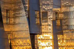 Windows on the Weisman (explored!) (Sam Wagner Photography) Tags: frank gehry architecture weisman art museum university minnesota twin cities minneapolis midwest sunset reflection unique metal stainless steel