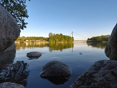 Vanhankaupunginlahti, Helsinki, June 14th 2017. #vanhankaupunginlahti #helsinki #visithelsinki #silta #bridge #gopro #goprohero5 #hero5 #finland #reflection  #lovesreflections #loves_reflections #loves_reflection #meri #sea (Sampsa Kettunen) Tags: helsinki silta sea meri hero5 bridge vanhankaupunginlahti finland gopro lovesreflections visithelsinki lovesreflection reflection goprohero5