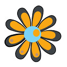 flower y3 icon (kwippe) Tags: icons clipart vector