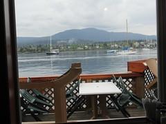 Pub patio (jamica1) Tags: protection island nanaimo bc british columbia canada dinghy dock pub sail boats