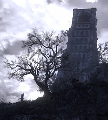 (ConnecteD\_) Tags: dark souls iii 3 fromsoftware tree bell tower sky screenshot outdoor