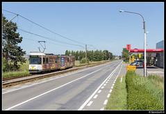 DL 6025 - Nieuwpoortlaan (Spoorpunt.nl) Tags: 10 juni 2017 de lijn bn wagen 6025 lombardsijde dorp nieuwpoortlaan
