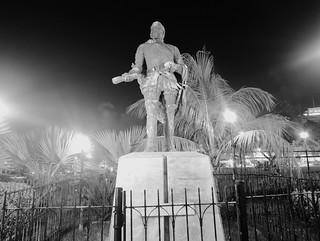 Statue of Miguel Lopez de Legazpi