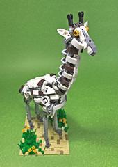 LEGO Mech Giraffe-01 (ToyForce 120) Tags: lego robot robots mecha mech mechanic legomech legomoc