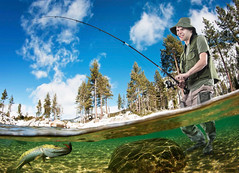 John Palmero (Krome Studio) Tags: catching euphoric rod bait waders equipment relax background twitching man reel boy twitch male pole cap tackle leisure person angling joy hobby fishingpole angler studio jig hat fishing angle green sportfishing isolated hard fisherman adult flyfishing sport young holding crank fisher spool decoy white hold clothes fish spinner boots waistcoat