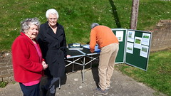 MHA wildflower project 2017 (Keep Wales Tidy) Tags: wildflowers sowing rsl consultation