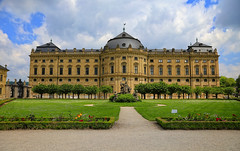 (louelke - off and on for a while) Tags: würzburgresidence palace germany baroquestyle courtgardens is beautifu ir