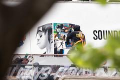 Pandora Radio (Always Hand Paint) Tags: 2017 brooklyn gorillaz music newyork ooh onlineservice pandora pandoraradio pandoraradioprogress spring williamsburg advertising alwayshandpaint b146 colossal colossalmedia handpaint mural muraladvertising outdoor skyhighmurals